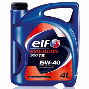 Aceite ELF EVOLUTION 500 TS 15W40 X 4LT
