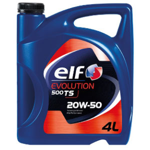 Aceite ELF EVOLUTION 500 TS 20W50 X 4LT
